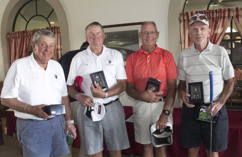The 70 and over winners were: Andy Mincer, Carl Engel, Bob Huesgen and Dave Smith.