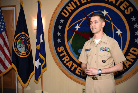 Former Marine Gunnery Sgt. Jason Fischer, a newly-promoted Navy lieutenant commander has renewed his membership in the USMCCCA.
